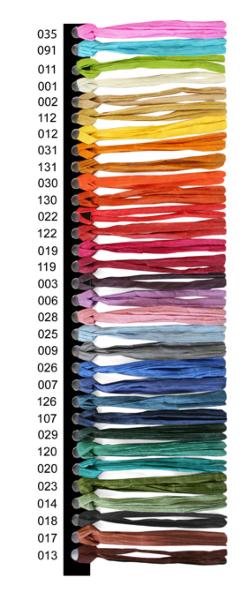 Flat paper yarn 3hg