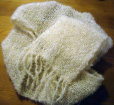 Mohair Bouclé yarn 100g