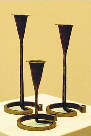 Ormtjusare ljusstake 10-25cm