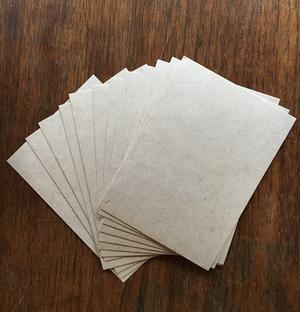 Single cards A6 100pcs