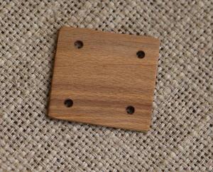Vävbricka av trä