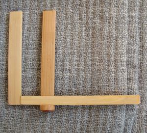 Crochet fork, adjustable