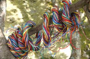 Paper yarn 30x1,5m